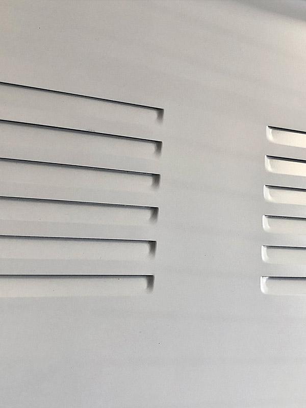 rejilla de ventilación para puerta seguridad trastero
